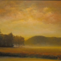 """A Golden Mist"" by Ron Brown #31 Enroth Easement"