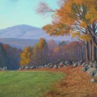 """""""Fall Morning Mt. Kearsarge"""" by Lisa Jelleme #48 Graves Easement"""