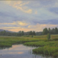 """""""Closing Light"""" by Lisa Jelleme #31 Enroth Easement"""