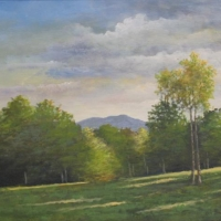 """Sunapee Through the Trees"" by Ron Brown #95 Star Lake Farm Easement"