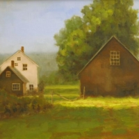 """""""The Barns at Hersey Farm"""" by J. Koron Hersey Farm Phase 2 Easement"""