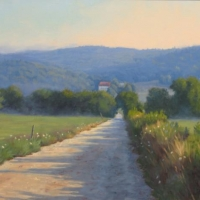 """""""The Road Between"""" by Lisa Jelleme #78 Hersey Family Farm Easement"""