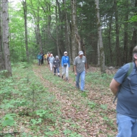 The LeBaron-Brewer property offers nice hiking trails