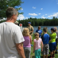 Russel Pond 2015 Dragonfly event in Sutton