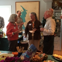 Suzanne Tether, June Fichter, Maggie Ford and Peter Fichter