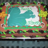 The Thank You cake