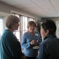 Peggy with Judy Zilvitis and Sue Elliott