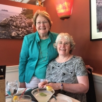 Suzanne Tether and Sue Andrews