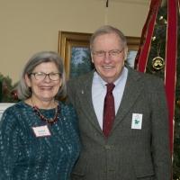 Former staff member Laurie DiClerico and Board Secretary, Joe DiClerico