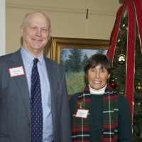 Founding Board Chairman, Woody Blunt and his wife, Shelby