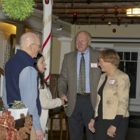 Debbie Stanley and Douog Lyon welcome the Pat and Judy Zilvitis.