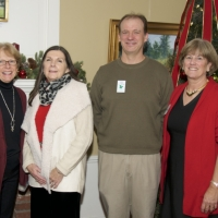 Staff L-R: Patsy Steverson, Debbie Stanley, Andy Deegan and Peggy Hutter