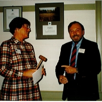 In 1992, Charlie served as Chair with Marilyn Kidder as his Vice-Chair.