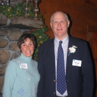 Woody and Shelby Blunt have been generous donors and hosts through the years.