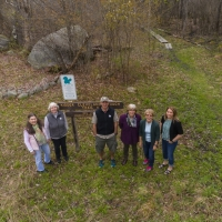Peter Bloch took this staff photo using his drone, our latest piece of technology to help us with the stewardship of our protected properties.