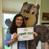 """Executive Director Debbie Stanley who never misses an opportunity to say """"Thank You"""" to the many people who support Ausbon Sargent's mission."""