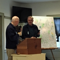saying goodbye to outgoing board member, Steve Allenby
