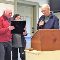 Peter Ficter leaves the board