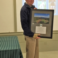 Saying goodbye to Doug Lyon for years of service on the board