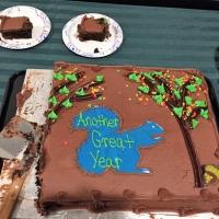 We'll miss Doug's annual cake donation...