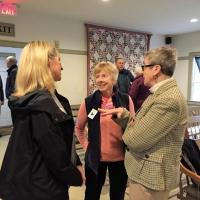 Aimee Ayers, Ginny Gwynn and Kathy Carroll