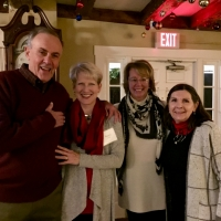 Steve and Nancy Allenby with Pam Perkins and Debbie Stanley.
