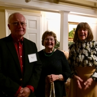 Harry and Suzanne Tether with Mary Lou Dufault