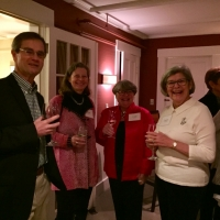 Steve Root, Karen Ebel, Cindy Lawson and Laurie DiClerico