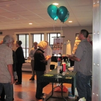 Volunteer Recognition Party at the Knowlton House