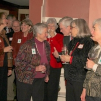 It's a nice time to chat with other Ausbon Sargent members.